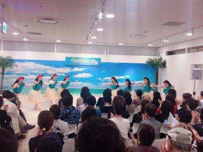 博多阪急ハワイアンフェスティバルに出演しました